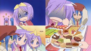 らき☆すた第9話 ケーキバイキングへ