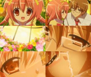 石蕗正晴と秋姫すもも。初めてのキス