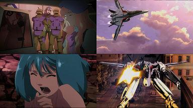 ヴァジュラがアイランドワンに。ギリアム戦死。アルトがVF-25に乗る