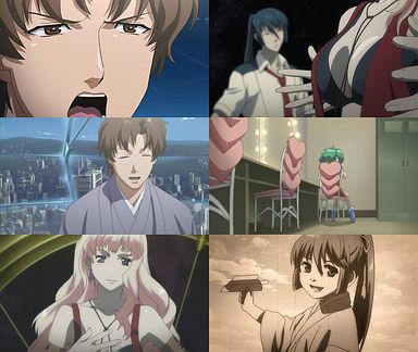 矢三郎に、演じている、自分に酔ってると指摘される。矢三郎、ランカ、シェリルの提案を考えるアルト