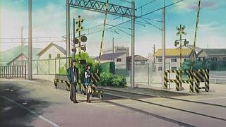 阪急甲陽線踏切@涼宮ハルヒ