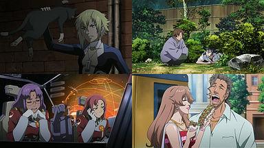 ランカとブレラ。矢三郎とアルト。SMSメンバー。オズマとキャシー