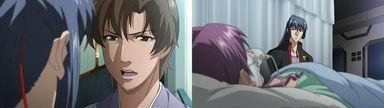 矢三郎に戻ってくる事を勧められるアルト