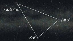 夏の大三角形(宙のまにまに)