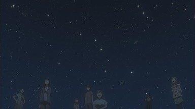 夏の北の空+北斗七星