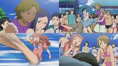 蒔田姫、吉成、和泉がからまれる