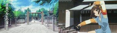 広田神社で撮影