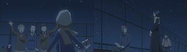 三波、川村から星見ちゃんと呼ばれるようになった美星。イベント部員がたくさん参加していた