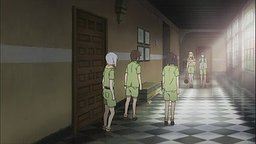 白黒格子の廊下(7話)